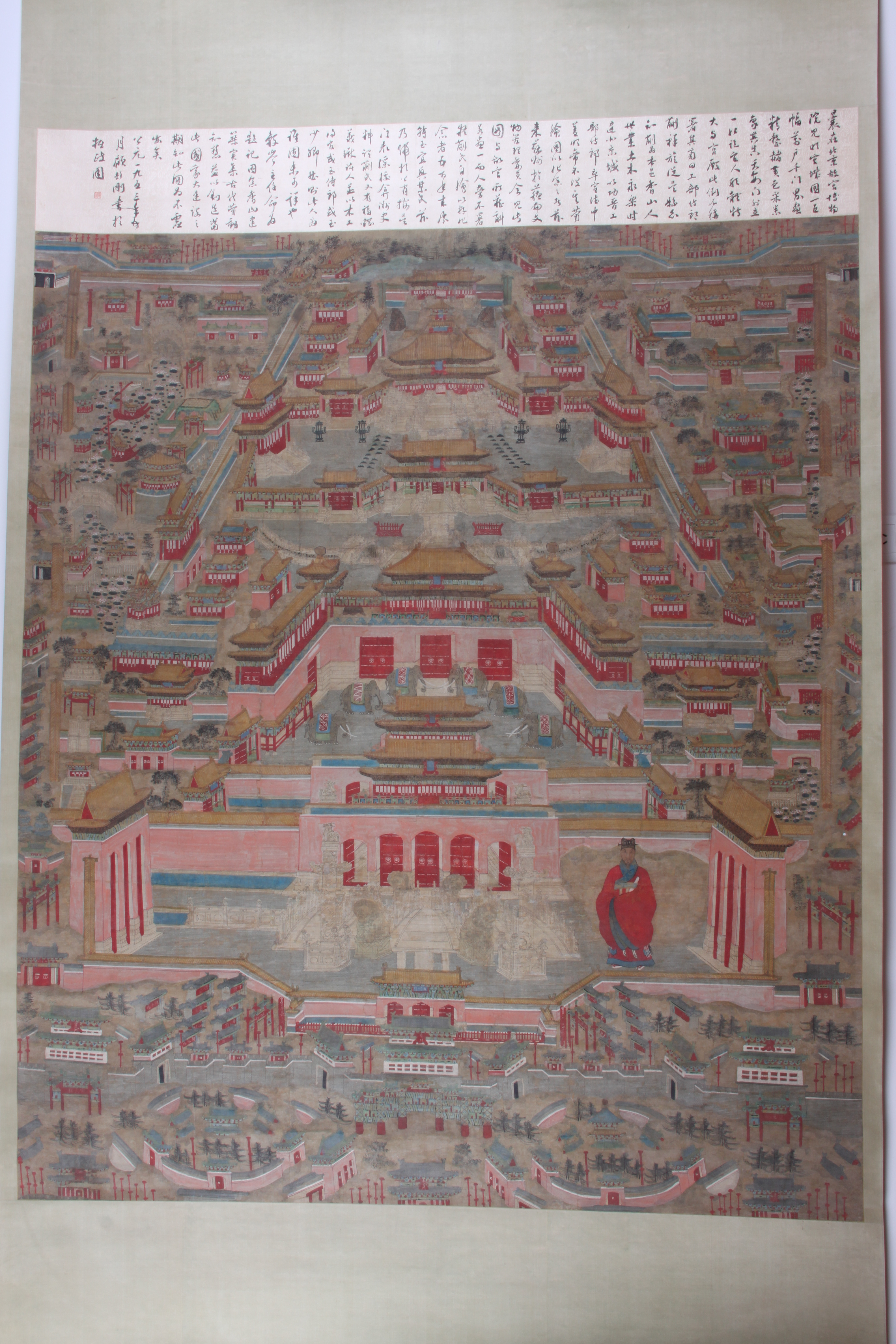 Beijing Ming Palace Scroll. China, Ming Dynasty © Nanjing Museum/Nomad Exhibitions