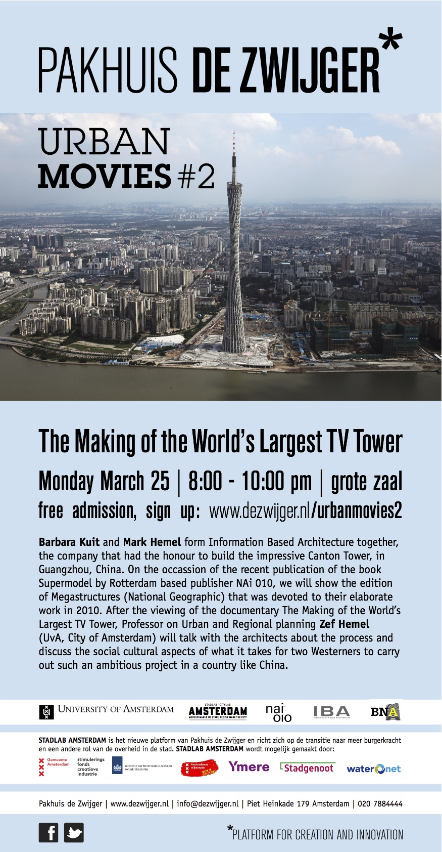 The Making of the World's Largest TV Tower
