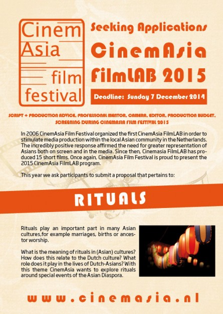 Cinemasia Filmlab 2015 part 1