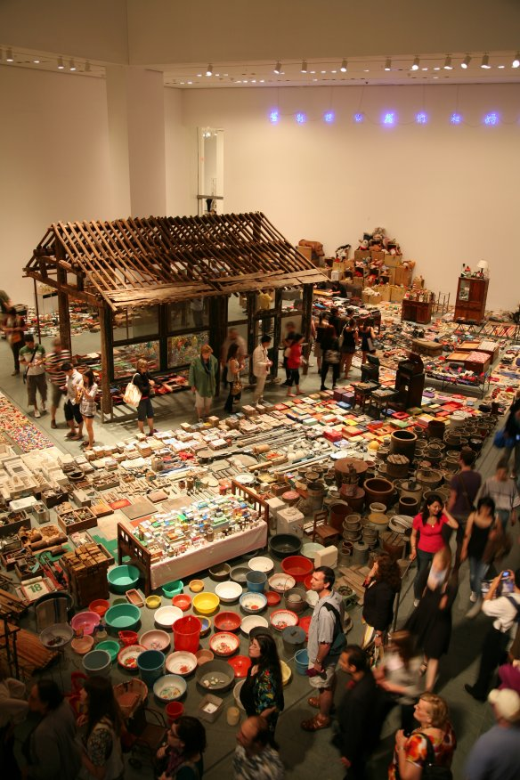 Waste Not, 2002, Courtesy BTAP / Tokyo Gallery, foto: Song Dong