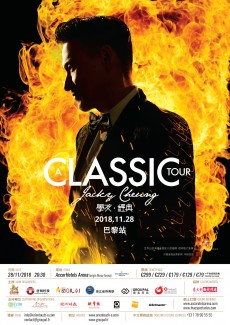 "Jacky Cheung ""A Classic Tour"" 張學友經典世界巡迴演唱會 @ Accor Hotels Arena"