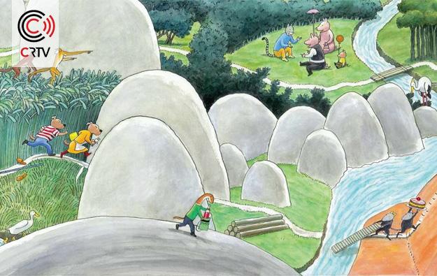 Illustratie van Thé Tjong-King