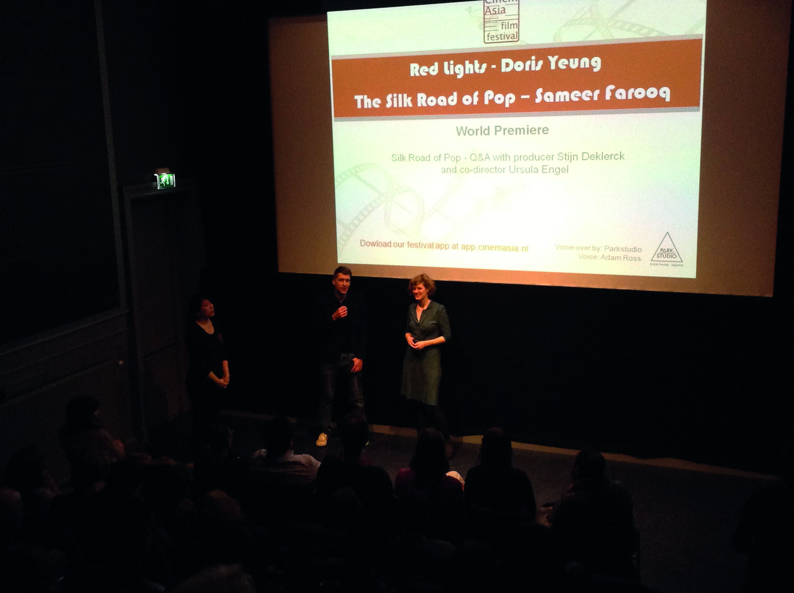 The Silk Road of Pop - Q&A at Cinemasia