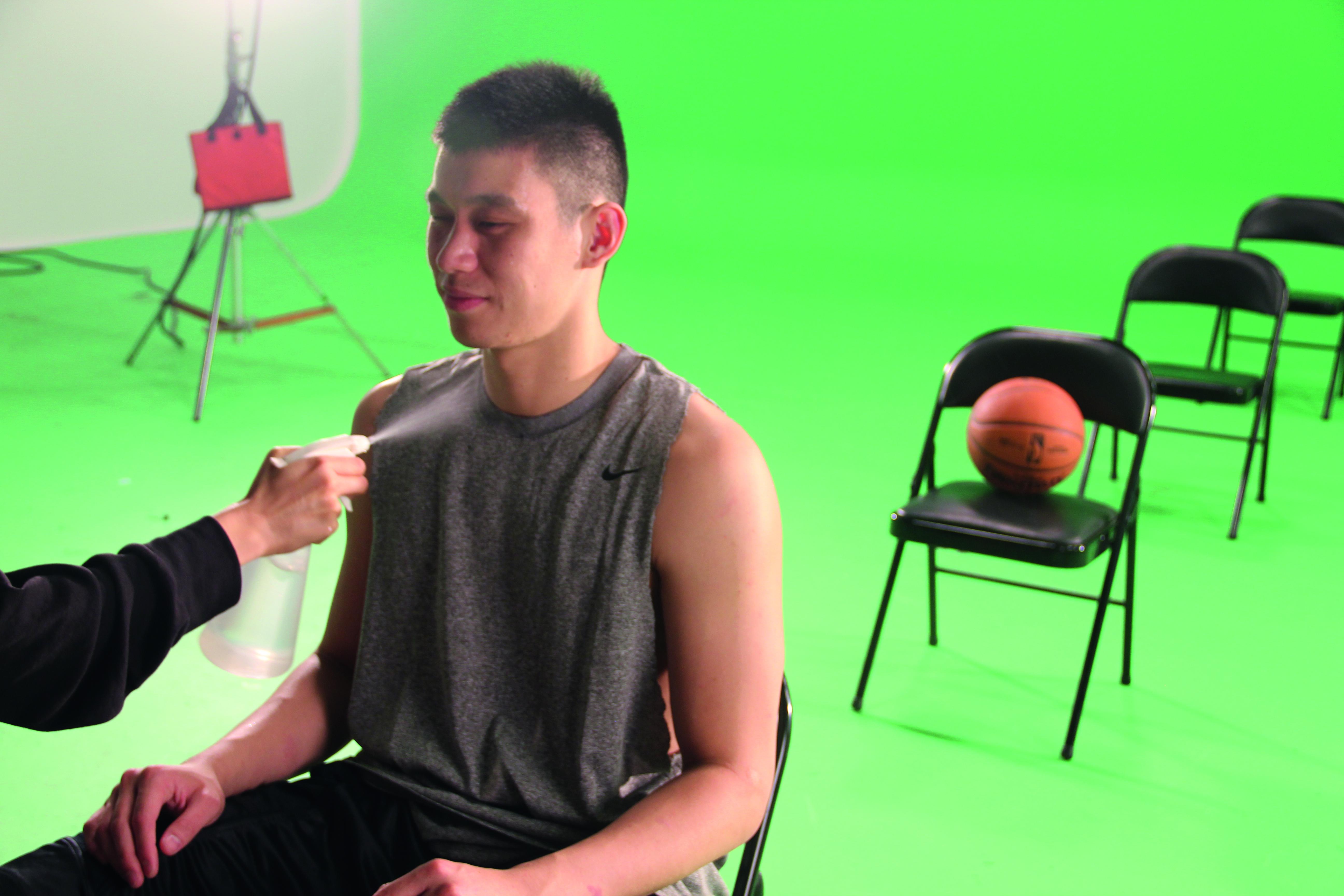 Jeremy Lin Voorbereiding op interview voor Linsanity