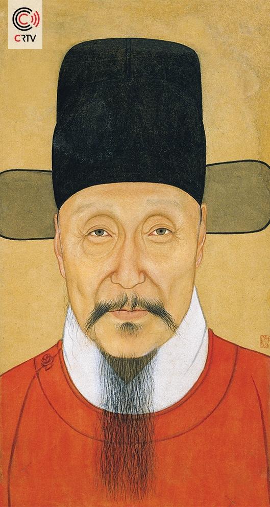 Portret van He Bin-crtv