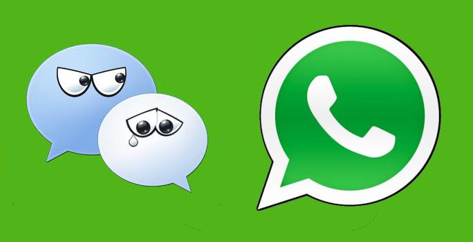 WeChat versus Whatsapp