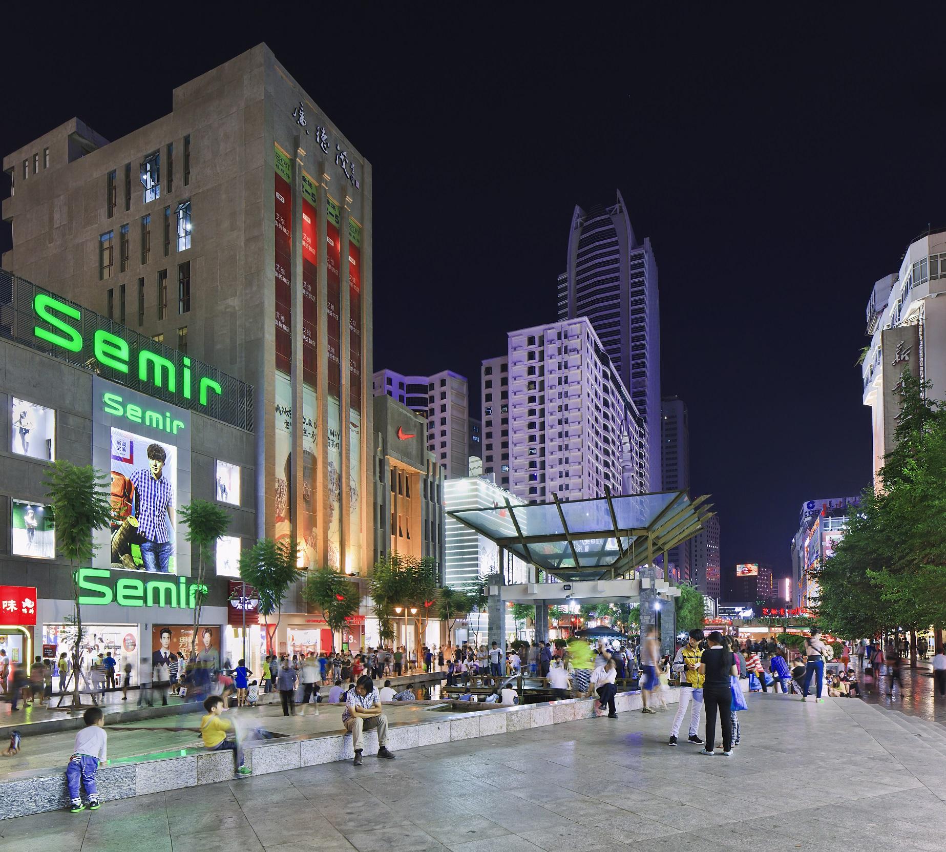 Kunming centrum