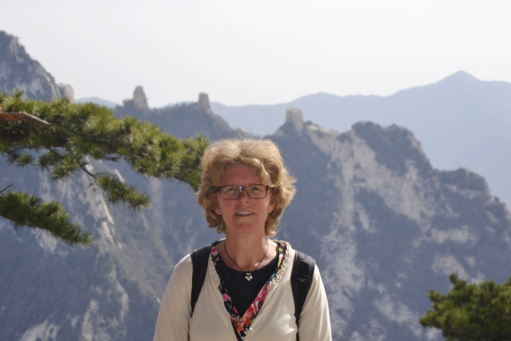 Marilou den Outer (Geledraak.nl) in Huangshan