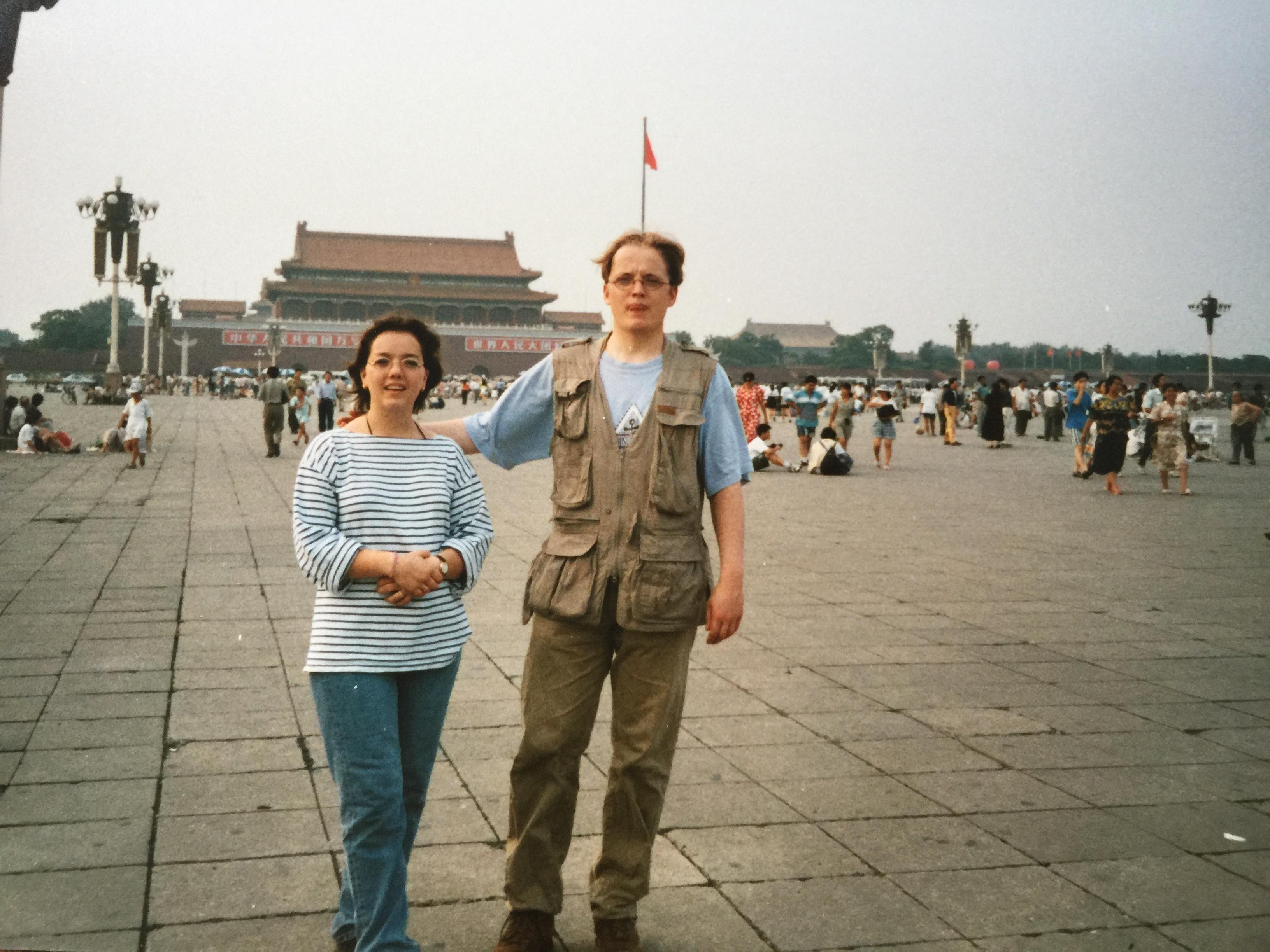 19 jaar geleden maakte ik twee maanden back pack reis met Jeroen Pynenburg door China.