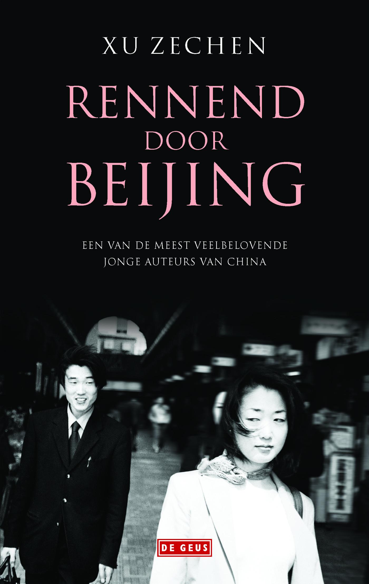 Rennend door Bejing