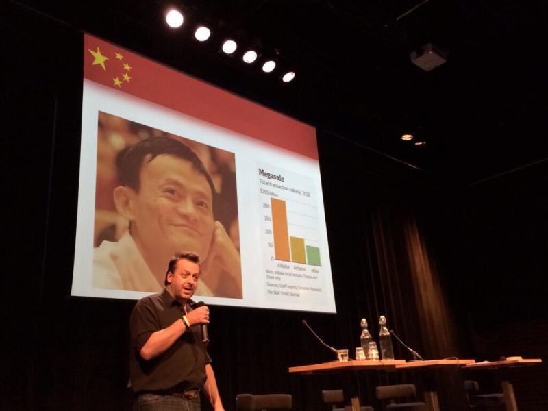 Ed Sander over Alibaba (Foto: Giovanna Chen)