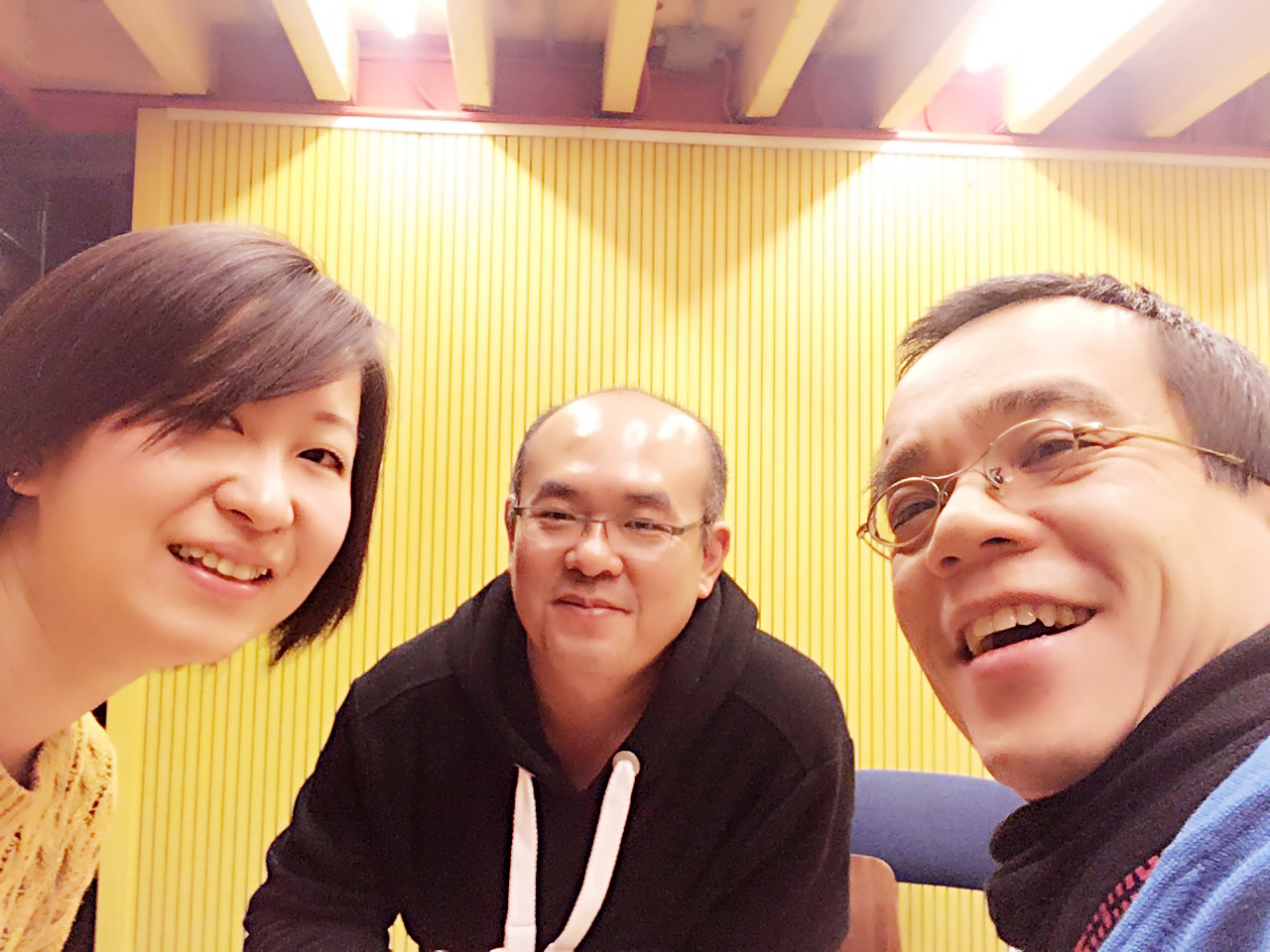 From left to right: Miki Dai, David Li and Hong Tong Wu