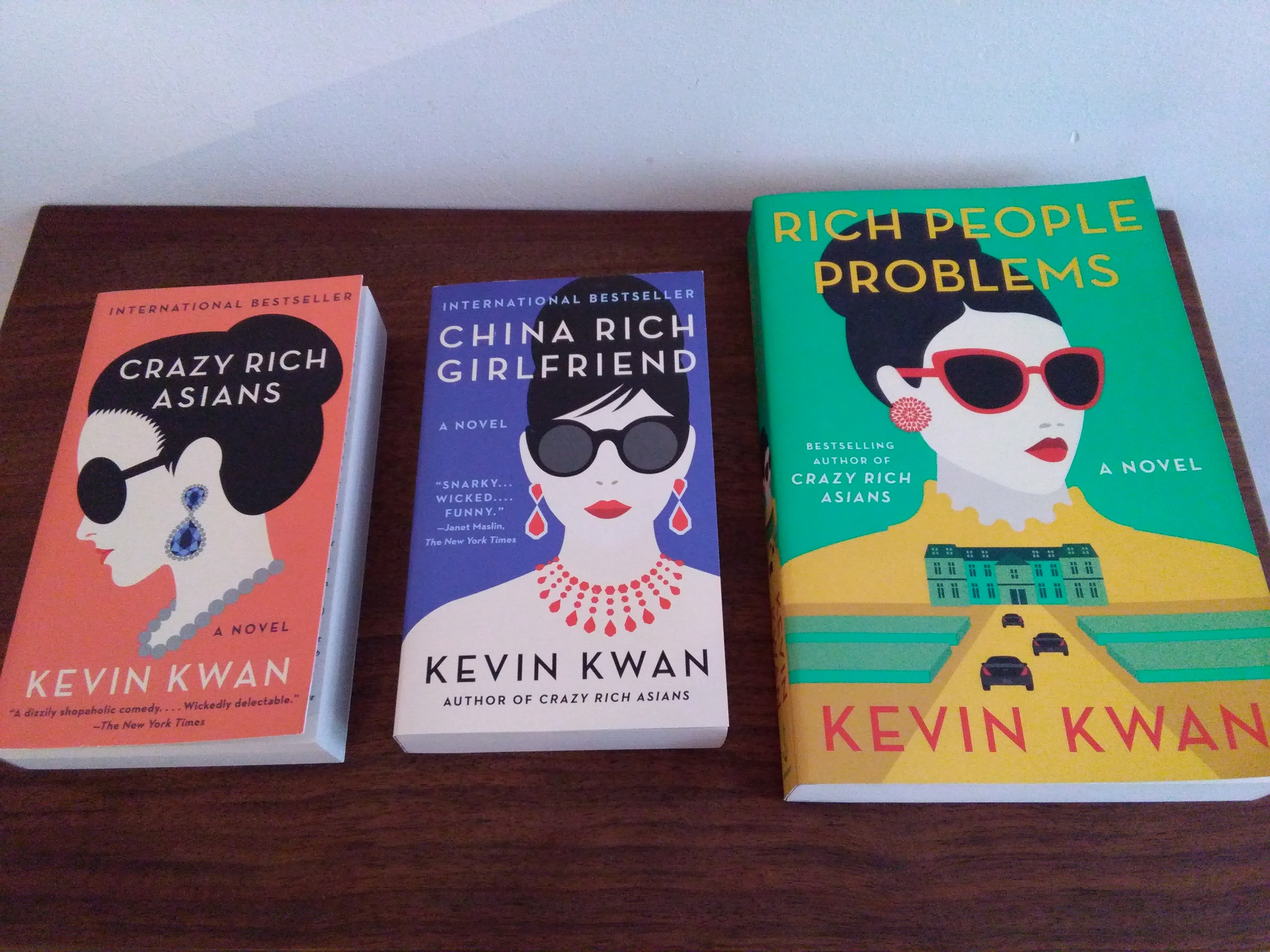 Trilogy Crazy Rich Asians